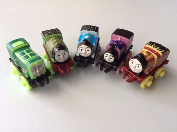 Thomas Friends Glow in the Dark Minis