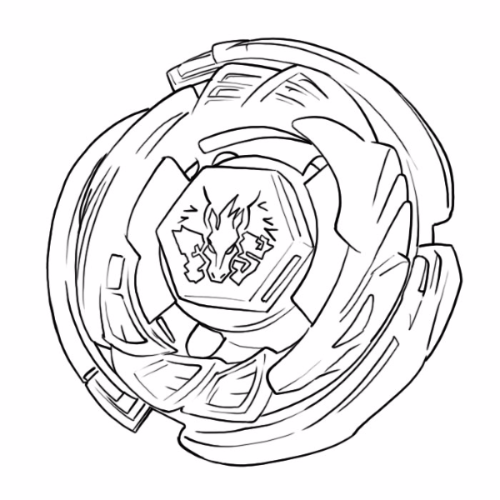 Beyblade-Pegasus-Coloring-Pages
