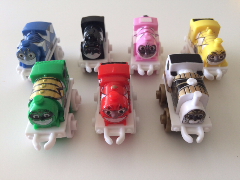 Power Rangers Complete Set