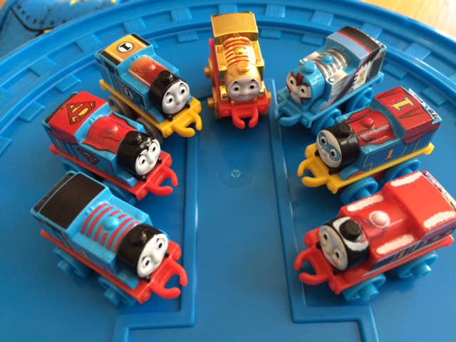 Thomas & Friends Minis for Moms, Part 5 Codes Checklist