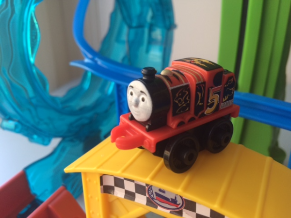 Racer James In Thomas Friends