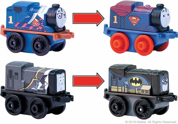 SDCC Super Friends Thomas Minis