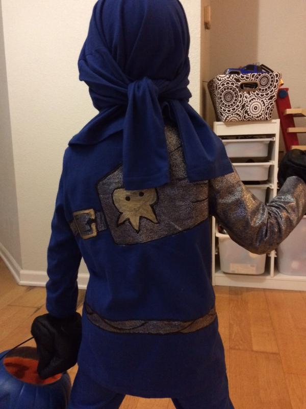 & How to Make Ninjago Jay Halloween Costume - Long Day Mama?