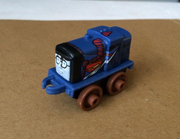Salty as Clark Kent