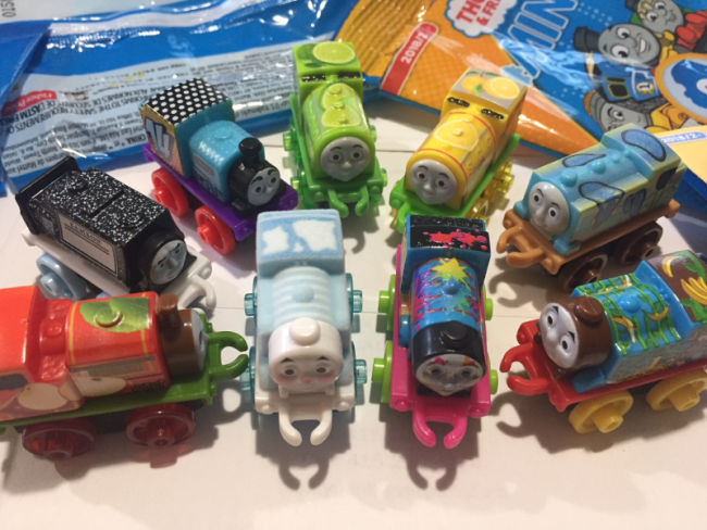 Thomas & Friends Minis for Mom, Part 51 2018 Wave 2 Codes